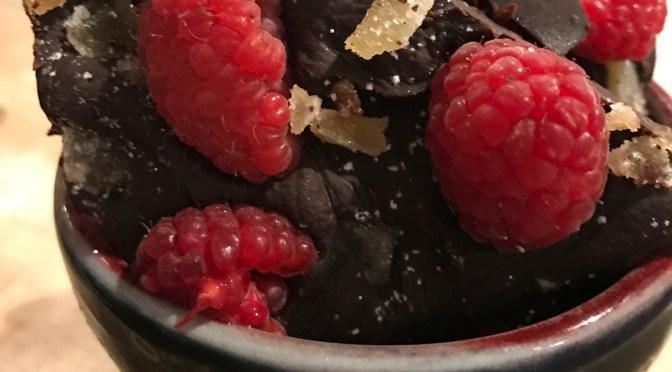 Raspberry Ginger Chocolate Bark