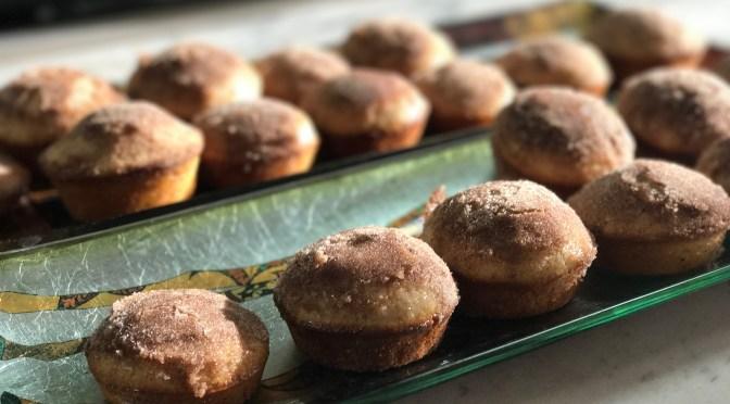 Cinnamon Cardamom Baked Donuts