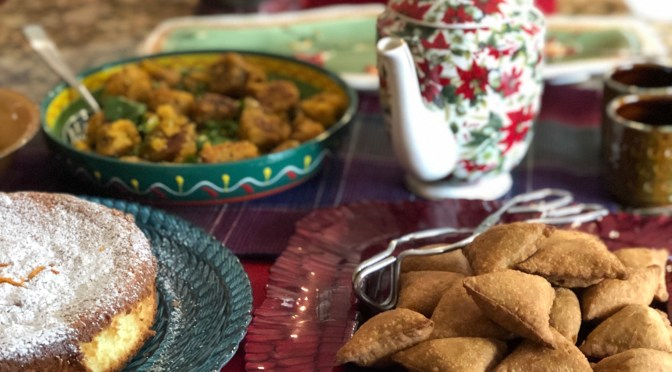 Holiday Tea at Devi's 2018