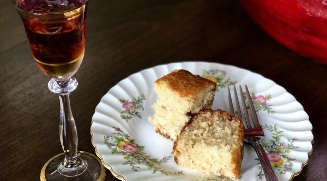 Sweet Chardonnay Pinnacolada Cake
