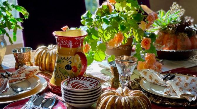 Vegetarian Thanksgiving Menu 2020