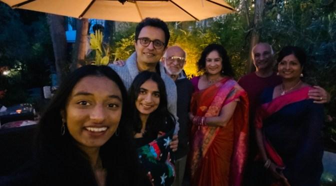 Diwali Lunch with Shalini and Prasad 2020