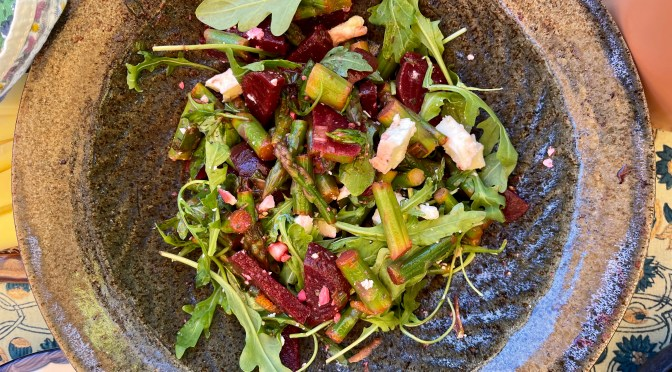 Asparagus and Beet Salad