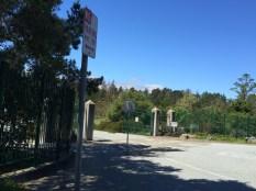 Gated park closes at 4pm sharp.
