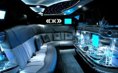 Chrysler 300 Limousine Interior.