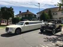 Vintage Car & Limousine Hire Weddings.