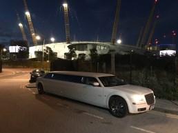 Chrysler Limo at the O2 Arena