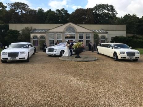 Chrysler Limousines & Rolls Royce Phantom