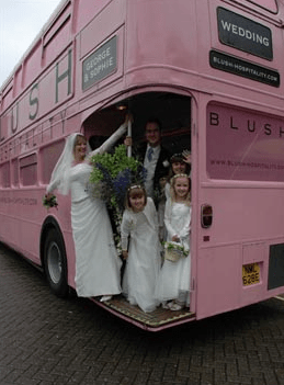 A Wedding by Blush Bus