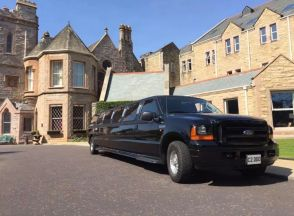 Ford Excursion - Black - Limo Hire London | Surrey