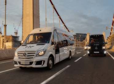 16 Seater Party Bus Hire West London