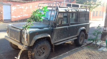Land Rover from Chaco Green II