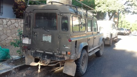 Land Rover from Chaco Green