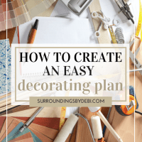 How to Create a Decorating Plan that Gets Results