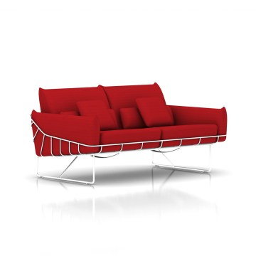 Wireframe Sofa by Herman Miller