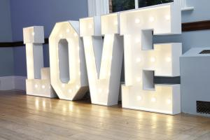 Large Love Letters Gloucester