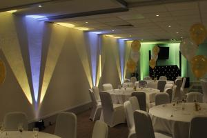 Mobile Djs and Disco with Uplighters In Gloucester