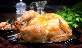 pollo frito, pollo para consumir, pollo preparado,