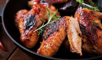 alitas de pollo al horno, alitas al horno, preparar alitas de pollo,