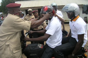 Free Distribution Of Motorcycle Helmet