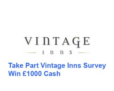 Vintage Inns Survey