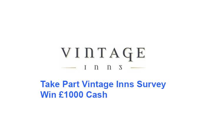 Vintage Inns Survey