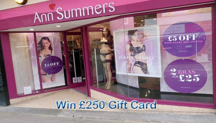 Ann Summers Customer Survey