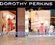 Dorothy Perkins Customer Feedback Survey