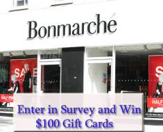 Bonmarche' Customer Feedback Survey