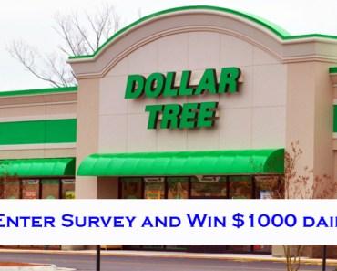 DollarTree Feedback Survey