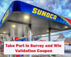 Sunoco Feedback Survey