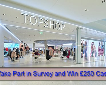 Topshop Customer Feedback Survey