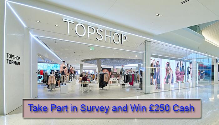 Topshop Customer Feedback Survey