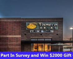 Panera Bread Survey