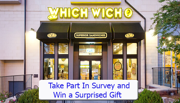 Which Wich Survey