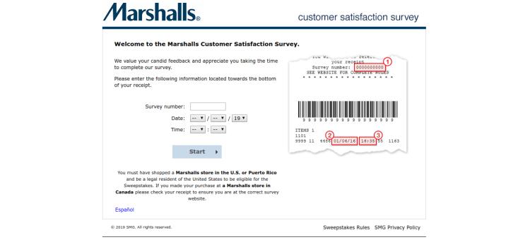 www.marshallsfeedback.com – Take Marshalls Customer Survey To Win $500 Gift Card