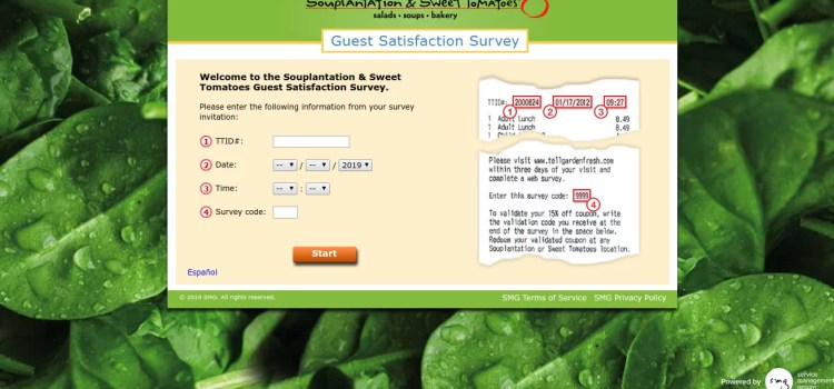 www.tellgardenfresh.com – Take Souplantation Survey To Win 15% Off