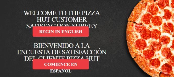 TellPizzaHut.com – Pizza Hut Customer Satisfaction Survey