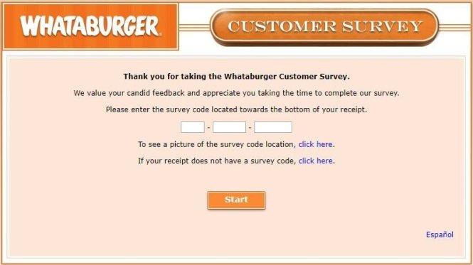 Take Part In Whataburger Customer Survey
