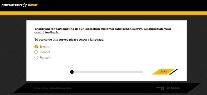Footaction Customer Survey Guide