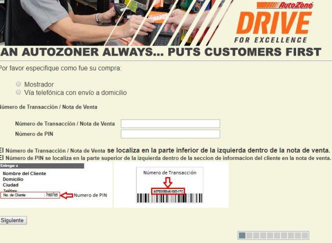 Autozone Survey - Autozonecares.com