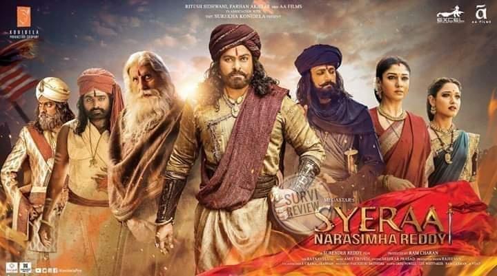 Survi Review Syeraa Narasimha Reddy