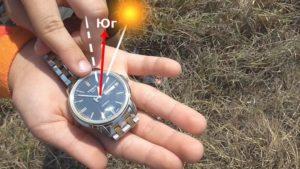 Orientação com relógios