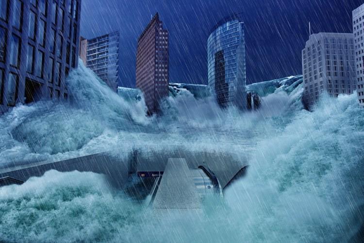 Flucht - Fluchtplan - Fluchtweg Hochwasser