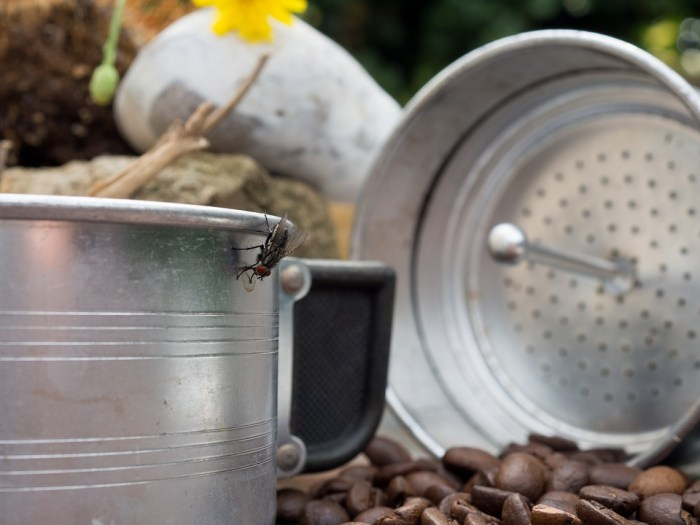Cowboykaffee zubereiten
