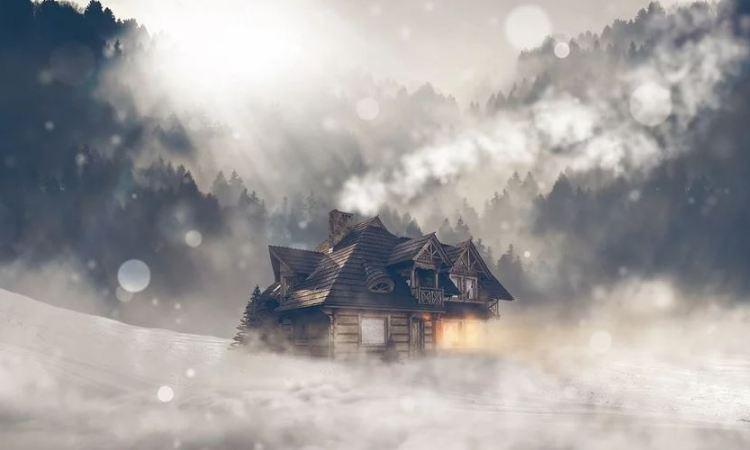 Sturm Vorbereitung - auf einen Wintersturm vorbereiten