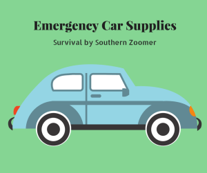 emergency car supplies