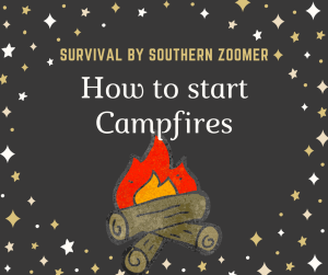 how to start campfires