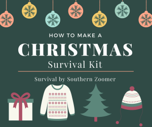 how to make a christmas survival kit