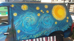 Starry Night Van Art